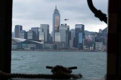 Hong Kong schronienie i miasto zdjęcia stock