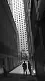 Hong Kong in Schwarzweiss Lizenzfreie Stockfotos