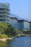 Hong Kong Science Park. A picturesque view of the modern buildings in the Hong Kong Science Park Royalty Free Stock Photography