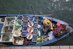 Hong Kong Seafood Royalty Free Stock Photography