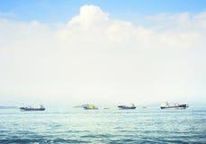 Hong Kong seashore Stock Photos