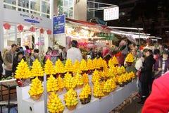 Hong Kong: Servizio del fiore immagine stock libera da diritti