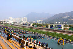 Hong Kong : Sha Tin Racecourse Stock Photography