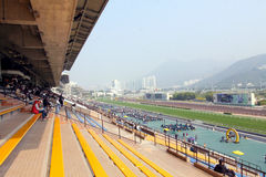 Hong Kong : Sha Tin Racecourse Royalty Free Stock Photos