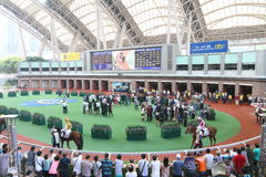 Hong Kong : Sha Tin Racecourse Stock Photos