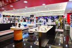 Hong Kong shopping center interior Royalty Free Stock Photography