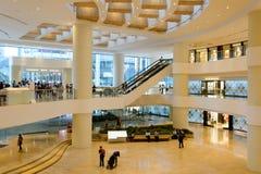Hong Kong shopping mall interior. HONG KONG - JUNE 01, 2015: Hong Kong shopping mall interior. Hong Kong shopping malls are some of the biggest and most Royalty Free Stock Photo