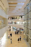 Hong Kong shopping mall interior. HONG KONG - JUNE 01, 2015: Hong Kong shopping mall interior. Hong Kong shopping malls are some of the biggest and most Royalty Free Stock Images