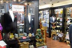 Hong Kong shoppinggalleriainre Royaltyfria Bilder
