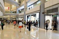 Hong Kong shoppinggalleriainre Royaltyfri Fotografi