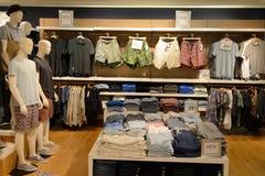 Hong Kong shoppinggalleriainre Arkivbild