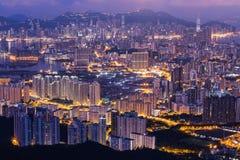 HONG KONG, SIERPIEŃ - 01, 2015: Fei ngo shan Hong Ko (Kowloon szczyt) Obraz Stock
