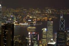 Hong Kong sikt Arkivbilder