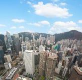 Hong Kong sikt Arkivfoton