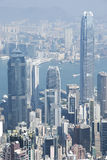 Hong Kong sikt Royaltyfri Fotografi