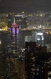 Hong Kong sikter fotografering för bildbyråer