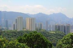 Hong Kong at Sir Cecil's Ride, Braemar Hil Stock Photos