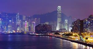 Hong Kong Skylight fotografia de stock royalty free