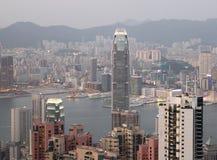 Hong Kong skyline royalty free stock photos