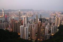 Hong Kong skyline royalty free stock image