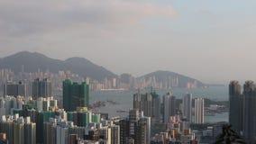 Hong Kong Skyline a 2018 stock footage