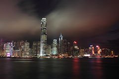 Hong Kong skyline Stock Image