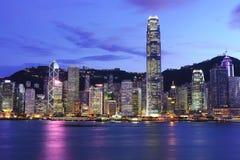 Hong Kong skyline Royalty Free Stock Photography