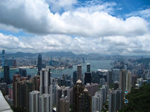 Hong Kong skyline Stock Images