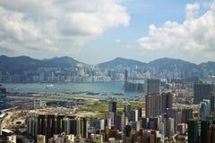Hong Kong Skyline. View of Hong Kong skyline Stock Photos