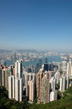 Hong Kong skyline Stock Photography