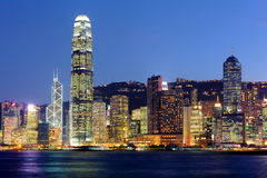 Hong Kong Skyline Foto de archivo