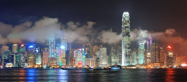 Hong Kong skyline Royalty Free Stock Images
