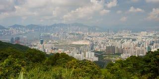 Hong Kong Skyline Fotos de Stock Royalty Free