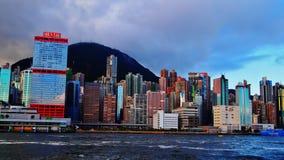 Hong Kong Skyline Immagini Stock Libere da Diritti