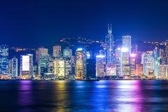 Hong Kong-Skyline Stockbilder