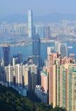 Hong Kong Skyline Foto de archivo libre de regalías