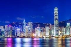 Hong Kong Skyline Fotos de archivo libres de regalías