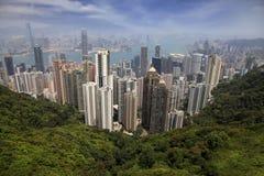Hong Kong Skyline Fotos de archivo