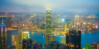 Hong Kong Skyline stock foto