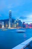 Hong Kong Skyline royalty-vrije stock foto's
