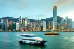 Hong Kong Skyline Royalty-vrije Stock Afbeeldingen