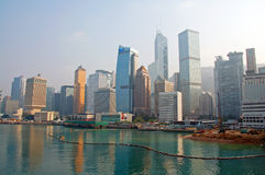 Hong Kong Skyline Royalty Free Stock Images