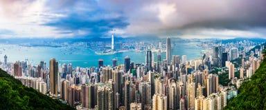 Hong Kong Skyline Stock Photos