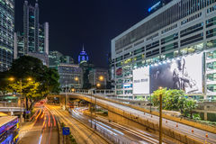 The Hong Kong skyline Royalty Free Stock Photo