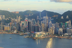 Hong Kong Skyline Image Fotografia Stock