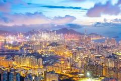 Hong Kong Skyline Kowloon Imagen de archivo libre de regalías