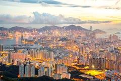 Hong Kong Skyline Kowloon Royalty Free Stock Image