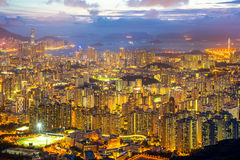 Hong Kong Skyline Kowloon Stock Photography