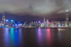 Hong Kong Skyline Royalty Free Stock Photos