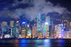 Hong Kong skyline Royalty Free Stock Photo
